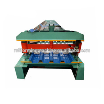 Baja Trim Dek Atap Lembar Roll Forming Machine