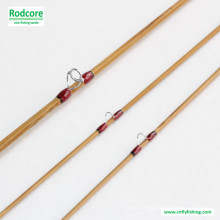 7FT6in 5wt médio rápido Tonkin bambu Fly Rod
