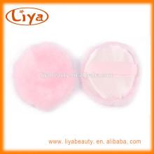 Soins personnels constituent des outils cosmétiques feuilletée en couleur rose