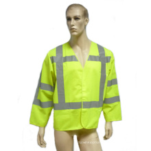 Hi-Viz Safety Reflectice Parka with Long Sleeve