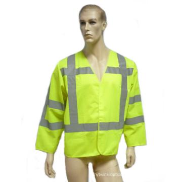 Hi-Viz Safety Reflectice Parka with Long Sleeve