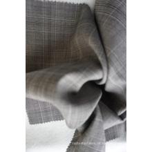 Verifique Tecido de Lã Tweed de 100% Lã