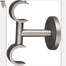 Double Pipe Curtain Rod Brackets