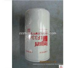 venta caliente LF3349 Filtro de aceite para KLQ6896 y ZK6898 / piezas de autobús