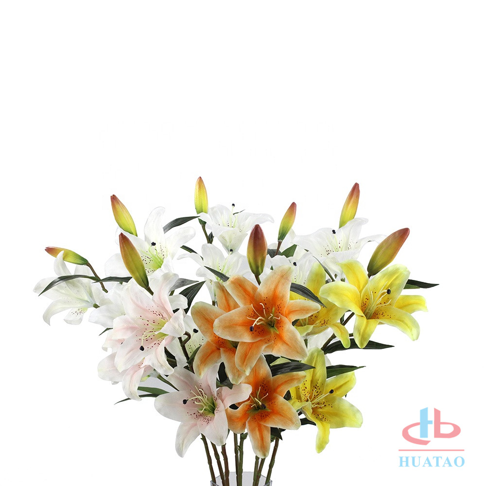 Single-3-heads-Lily-flowers-artificial-wedding