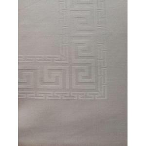 Cotton Jacquard Damask Tablecloth and Napkin