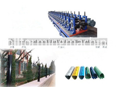 Peach-Type Post Forming Machine