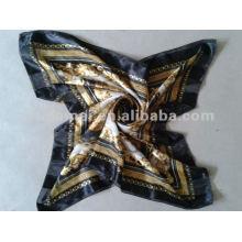 Fashion imprimé 100% foulard en soie femme