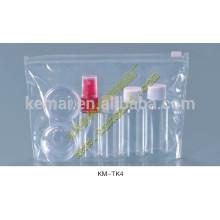 kit de cosmétiques set de voyage en bouteille