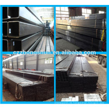 MS Carbon Black Steel Square Tube / verzinkt / vorverzinkten Square Tube