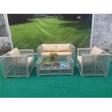 Rattan-Garten-Sofa-Möbel im Freien