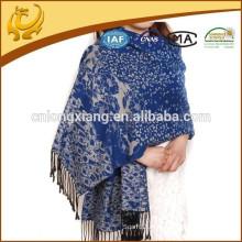 Bufandas indias de Pashmina del Jacquard del invierno de las señoras