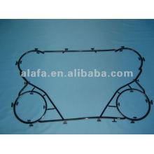 Gaxeta de nbr M6B para a gaxeta de trocador de calor de placa e placa, M6B gaxeta para venda