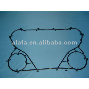 M6B nbr gasket for plate heat exchanger gasket and plate,M6B gasket for sale