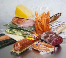 Vacuum Storage Bag Walmart Precooked Frozen Food Packaging For Snack , Medical