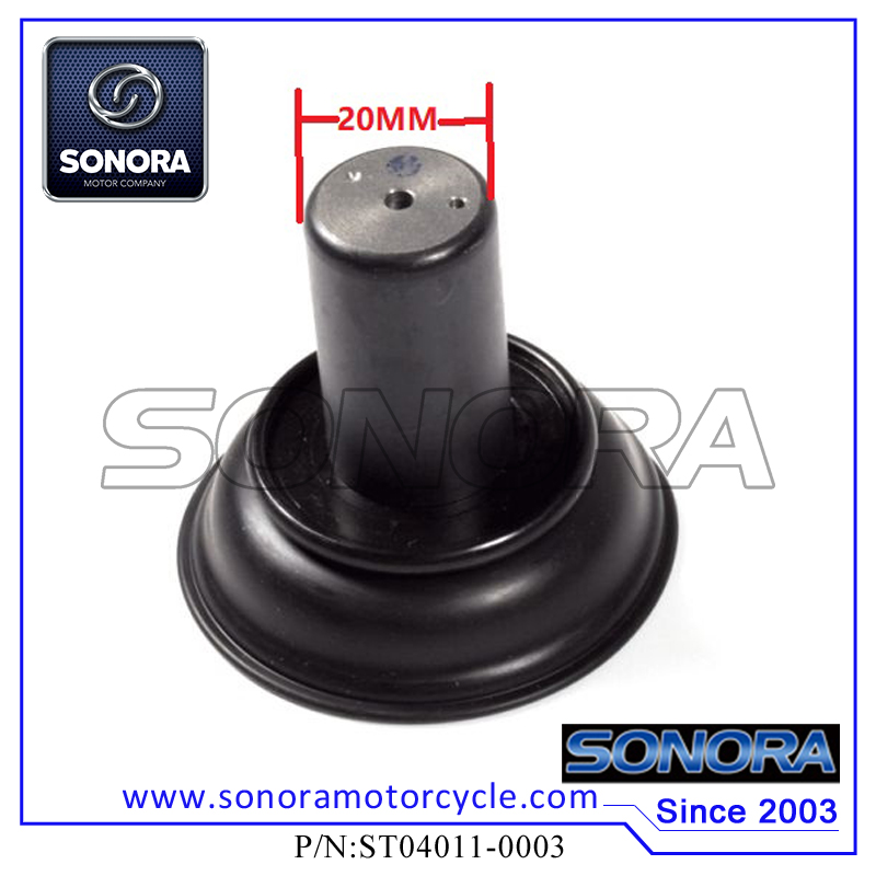 ST04011-0003 139QMA GY6 50,60,80 Deni 20MM Carburettor Diaphragm (1)