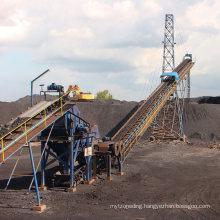 Portable Belt Conveyer for Port Transporting Sand, Aggregate