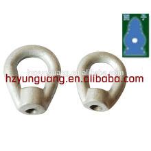 herzförmige Ringschäkel / Abspannleinen / Kabelklemme