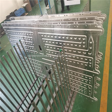 Placa de enfriamiento de aluminio frío líquido de agua de gestión de calor