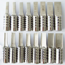 Stainless steel magnum tattoo Grips