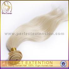 Armadura del pelo gris remy brasileño barato por mayor de alta calidad