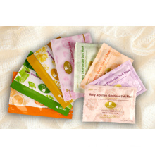 Plastic Cosmetics Bag, Facial Mask Packaging Bag