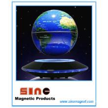 Globo magnético de tierra levitado