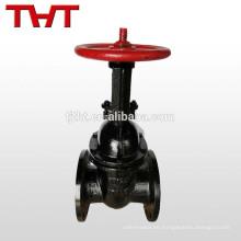 Vástago de elevación de hierro fundido que expande la válvula de compuerta de cuña
