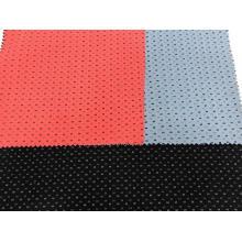 Tissu imprimé en coton extensible uni en polyester