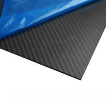 Gewohnheit CNC 3K Twill-Mattkohlenstoff-Faser-Ausschnitt-Platten-Autoteile