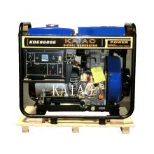 7kw Home Usage Generator Set KAIAO Small Diesel Generator Kipor Style