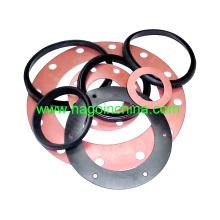 Qingdao anillo de goma plana personalizada