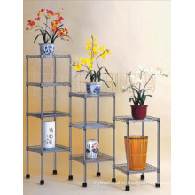 Metal Chrome Livingroom Rack (CJ-B0002)