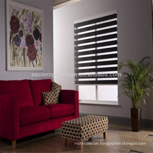 customize size two layers window zebra blinds