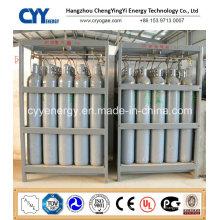 Cylindre à gaz à l'azote à l'oxygène à haute pression Dnv Rack