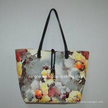 Verano más caliente impresa flor señoras señoras bolsas (zx226)