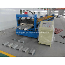 Machines de formage de rouleaux de pont de plancher vitré en acier