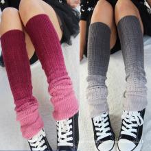 Women′s Acrylic Leg Warmer with Fading Effect (TA311)