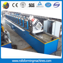 Manual c cold roll forming machine