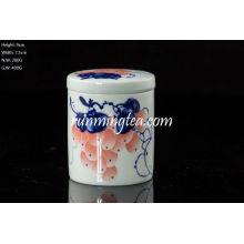 Traubenmalerei Teekanister, Gerade, 50g Tee