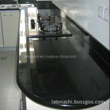 Black Granite Stone Vanity Top Countertop for Kitchen