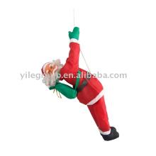 santa climbing rope