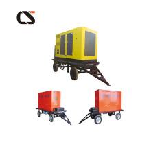 Diesel Generator Mobiles Kraftwerk vier Rad