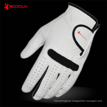 White Leather Golf Glove