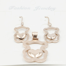 Fashionable Stainless Steel Imitation Jewelry Set