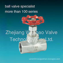 Stainless Steel Bsp Thread Globe Valve