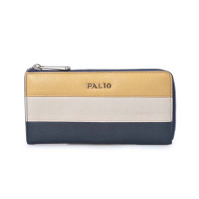 Travel Holiday Gift Zipper Around Long Wallet Multi-color