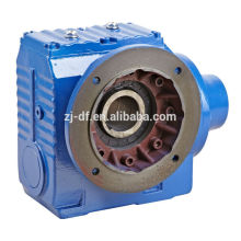 DOFINE S series sew style's right angle shaft mounted worm gear motor
