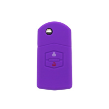 Atacado silicone auto Mazda car key case capa