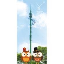 Torre de telecomunicações abrangente de 40 m para a área educacional